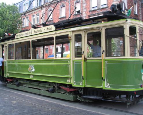 historische Strassenbahn